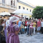 Varaždin, španciranje baroknom prijestolnicom
