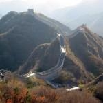 Kineski zid, građevina vidljiva i s mjeseca