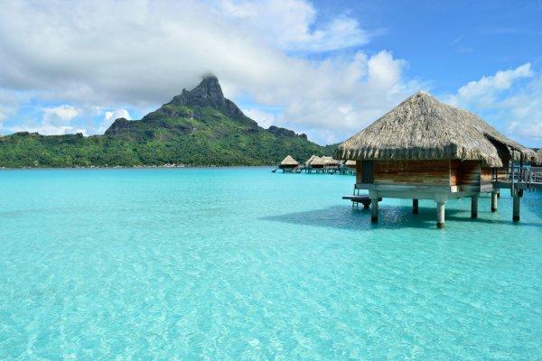 Hd Tropical Island Beach Paradise Wallpapers And Backgrounds: Bora Bora Putovanje, Francuska Polinezija