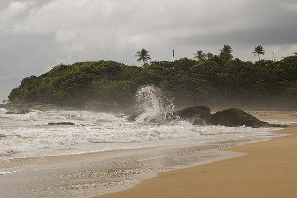 plaža na šri lanki