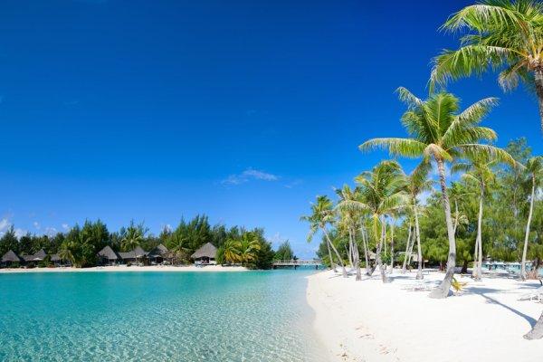 plaža na tahitiju