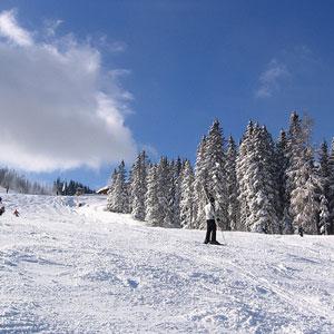 Schladming, poznat po zimskom turizmu