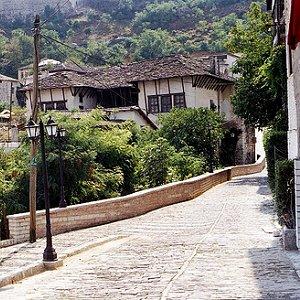 Gjirokastra, očuvani otomanski grad