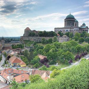 Esztergom, poznat po najvećoj crkvi u Mađarskoj