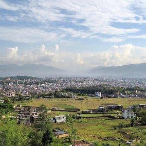 Katmandu i pogled na Mt. Everest