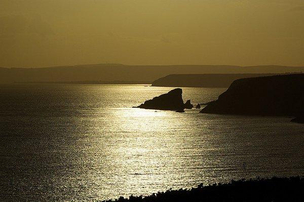 zalazak sunca u irskoj