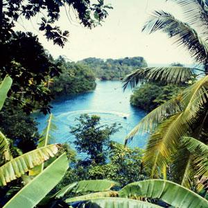 Plava laguna, lokalna znamenitost Jamajke