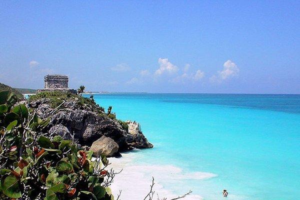 yucatan plaža