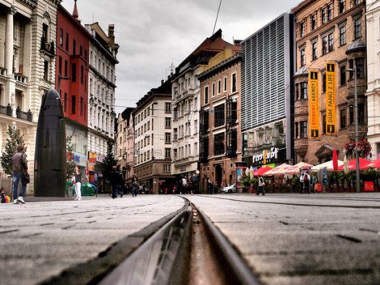 Brno, kulturno središte Južne Moravske