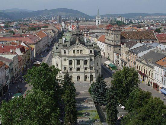 Košice, grad s mnogo naroda