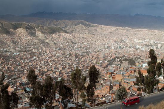 La Paz, administrativno središte Bolivije