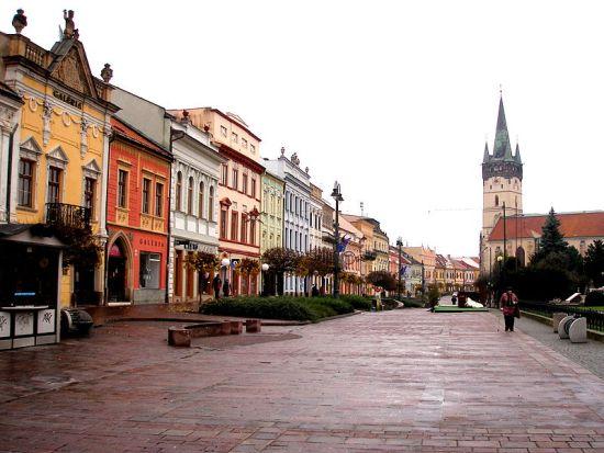 Prešov, grad iz paleolitika