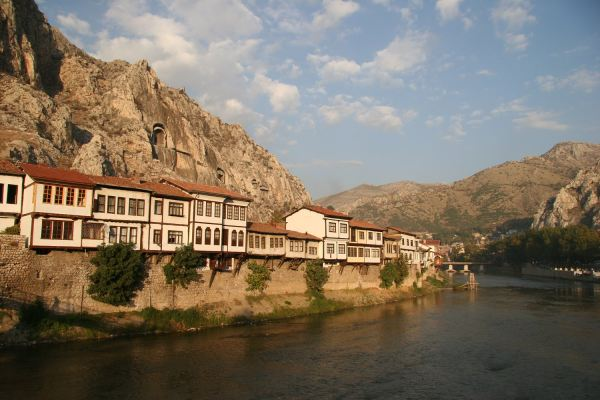 Amasya, grad nadomak Crnog mora