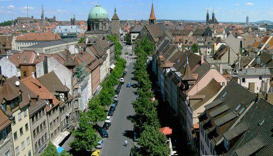 Nürnberg, poznat po suđenju nacističkim vođama