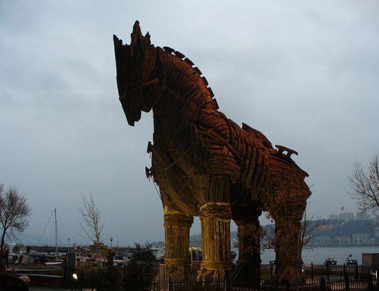Troja, grad iz Homerove Ilijade