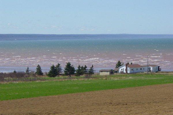 Zaljev Fundy, mjesto najviših plima