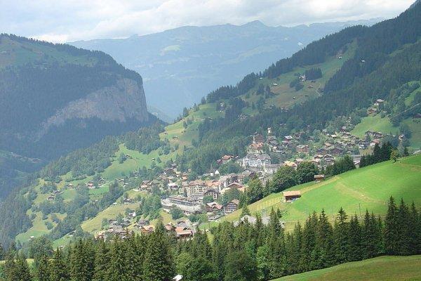 Wengen, poznato skijalište Europe