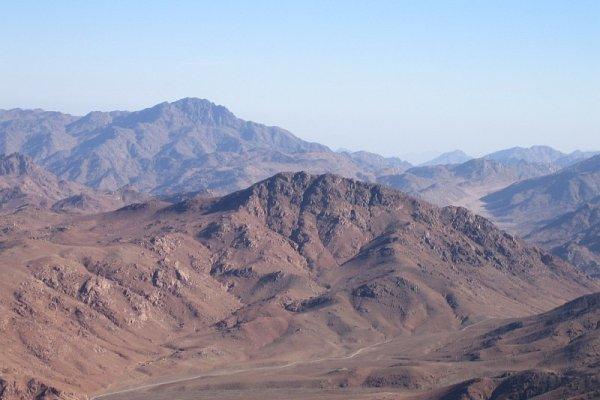 Planina Sinaj, mistična lokacija