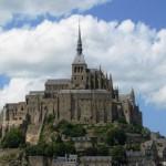 Mont-St-Michel, romantični grad