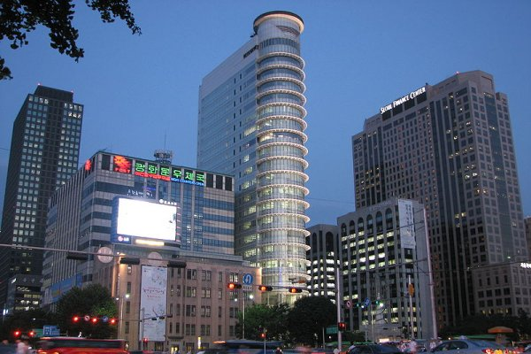 Seoul, grad nebodera