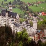 Neuschwanstein, dvorac u Alpama