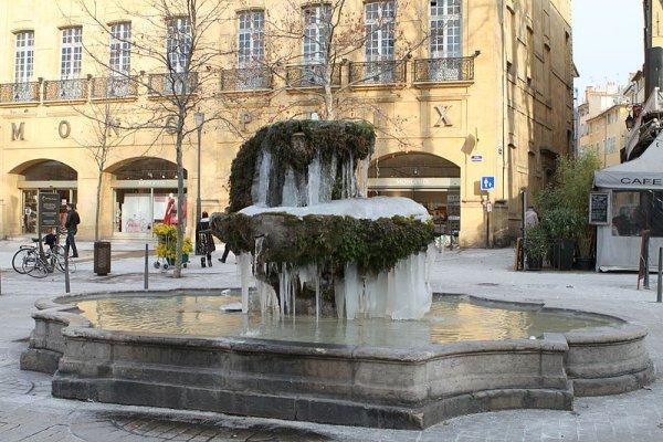 fontana u gradu