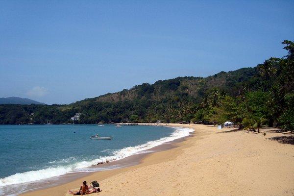 pješčana plaža na otoku