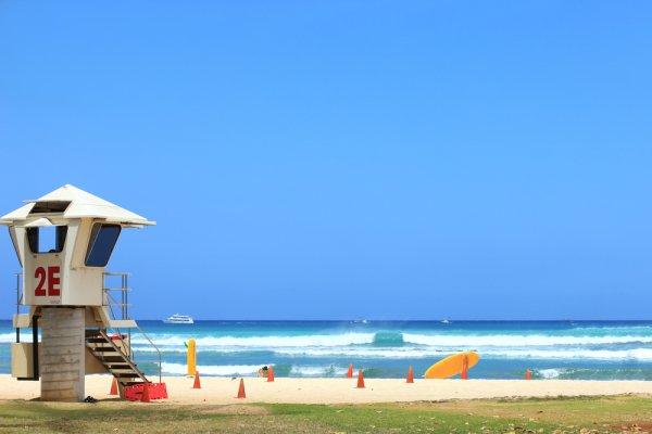 plaža na havajima