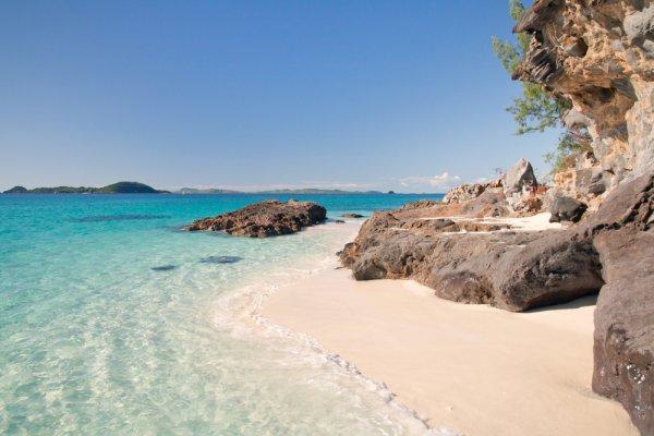 plaža na otoku
