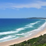 Zaljev Byron, obalno područje pješčanih plaža