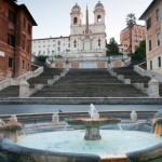 Španjolski trg, popularno rimsko okupljalište